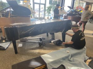 Unwrapping the piano