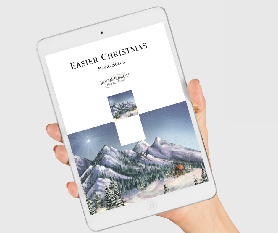 NOW AVAILABLE!!! Easier Christmas Piano Solos (Full Book) DIGITAL PDF ONLY