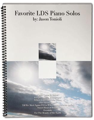 Favorite LDS Hymns I (Spiral Bound Book)