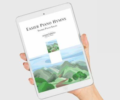 Easier Piano Hymns Digital Book