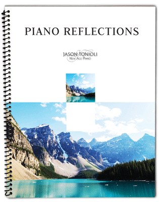 Piano Reflections – Spiral Bound Printed Piano Music Book