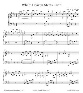 Where Heaven Meets Earth (PDF DRAFT SONG)
