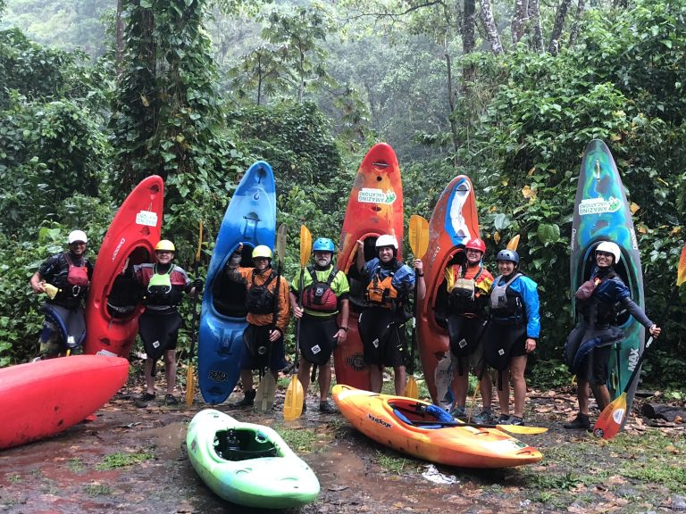 Kayaking in Costa Rica with AmazingVacationsCostaRica.com